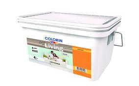 Colorín Living Latex Interior Lavable x 1 Litro - Pomelo